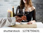Young Woman Is Flirting On A...