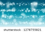 christmas snow flakes... | Shutterstock .eps vector #1278755821