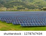 solar panel  photovoltaic ... | Shutterstock . vector #1278767434