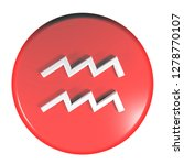 a red circle push button with...   Shutterstock . vector #1278770107