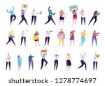 creative various people... | Shutterstock .eps vector #1278774697