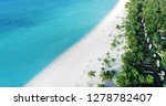 beach with water bungalows at... | Shutterstock . vector #1278782407