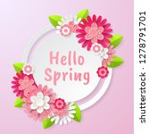 spring background with... | Shutterstock .eps vector #1278791701