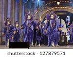 las palmas   spain   february 8 ... | Shutterstock . vector #127879571