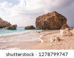 beautiful coastline view from... | Shutterstock . vector #1278799747