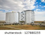 oil and gas processing plant | Shutterstock . vector #127880255