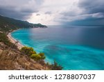 dramatic clouds and  stormy...   Shutterstock . vector #1278807037