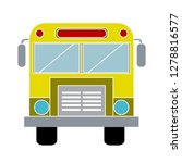school bus icon  transportation ... | Shutterstock .eps vector #1278816577