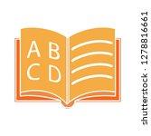 education exam icon school...   Shutterstock .eps vector #1278816661