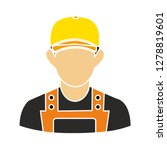 construction worker icon... | Shutterstock .eps vector #1278819601