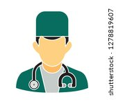 hospital doctor icon medical... | Shutterstock .eps vector #1278819607