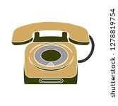 old phone icon telephone sign... | Shutterstock .eps vector #1278819754