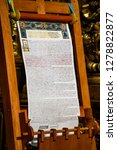tomos  a decree granting the... | Shutterstock . vector #1278822877
