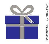 gift box icon present icon... | Shutterstock .eps vector #1278825424