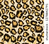 leopard   cheetah skin seamless ... | Shutterstock .eps vector #1278842791