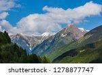 summer alps mountain landscape... | Shutterstock . vector #1278877747