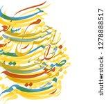 persian typography design....   Shutterstock .eps vector #1278888517