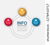 vector infographic template for ... | Shutterstock .eps vector #1278910717