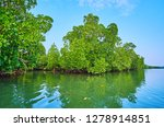 the pleasant boat trip along... | Shutterstock . vector #1278914851