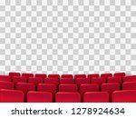 cinema seats isolated on... | Shutterstock .eps vector #1278924634