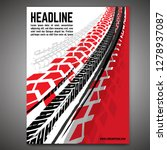 vector automotive banner... | Shutterstock .eps vector #1278937087