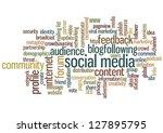 conceptual vector of tag cloud... | Shutterstock .eps vector #127895795