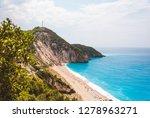beautiful milos beach...   Shutterstock . vector #1278963271