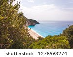 beautiful milos beach...   Shutterstock . vector #1278963274