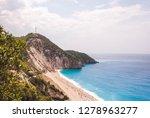 beautiful milos beach...   Shutterstock . vector #1278963277