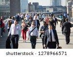 london  uk   april 19  2018 ...   Shutterstock . vector #1278966571