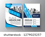 brochure template layout  cover ... | Shutterstock .eps vector #1279025257