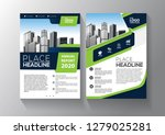 brochure template layout  cover ... | Shutterstock .eps vector #1279025281