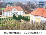 pavilion and the schloss... | Shutterstock . vector #1279025647