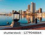 Skyline Of Manila City And...