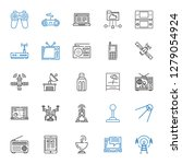 wireless icons set. collection...   Shutterstock .eps vector #1279054924