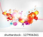 abstract  background with... | Shutterstock .eps vector #127906361