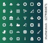 float icon set. collection of... | Shutterstock .eps vector #1279083871