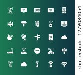 wi fi icon set. collection of... | Shutterstock .eps vector #1279084054