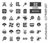 rotate icon set. collection of... | Shutterstock .eps vector #1279089187