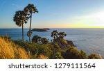 sundown on evening time at...   Shutterstock . vector #1279111564