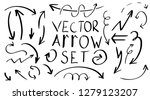 collection of handdraw vector...   Shutterstock .eps vector #1279123207
