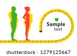 weight loss. the influence of... | Shutterstock .eps vector #1279125667