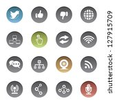 communication icons | Shutterstock .eps vector #127915709
