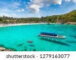 racha  raya  resort island near ... | Shutterstock . vector #1279163077