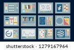 control panels. big set of... | Shutterstock .eps vector #1279167964