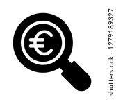 euro search glyphs icon