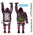 swag vector set   rapper with... | Shutterstock .eps vector #1279190491