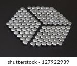 hex done from small metal... | Shutterstock . vector #127922939