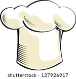 chef hat | Shutterstock .eps vector #127926917