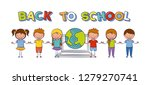 back to school | Shutterstock .eps vector #1279270741